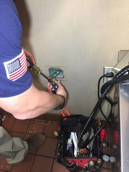 Replaced Outlet in Hickory, NC (1)
