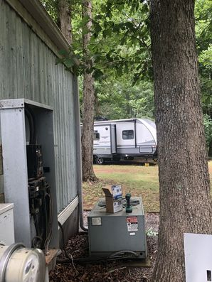 Install RV Plug for New RV in Hickory, (2)