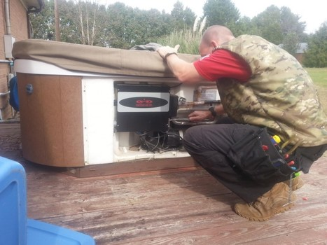 Wiring a Hot Tub in Maiden, NC