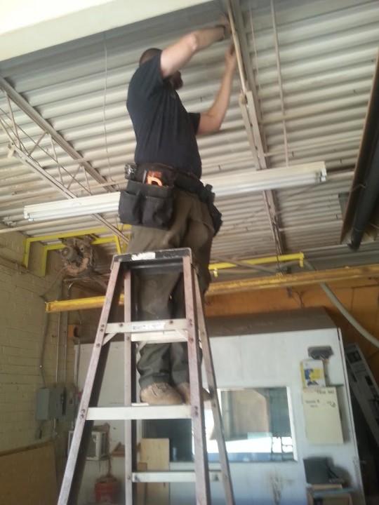 Photos by tri city electric for Gastonia garage door