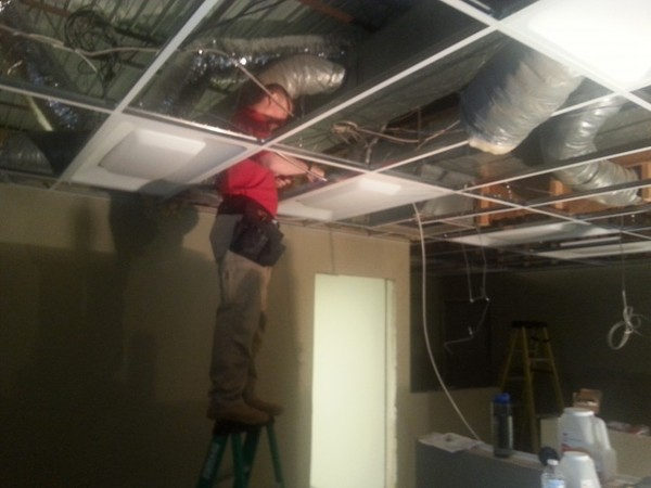 LED Office Light Installation in Conover, NC