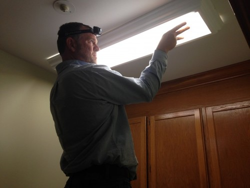 New Laundry Room Light Installation in Charlotte, NC