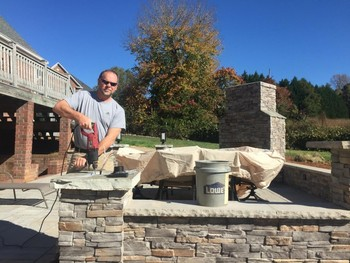 Installing Patio Lights in Conover, NC